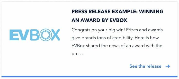 EVbox example