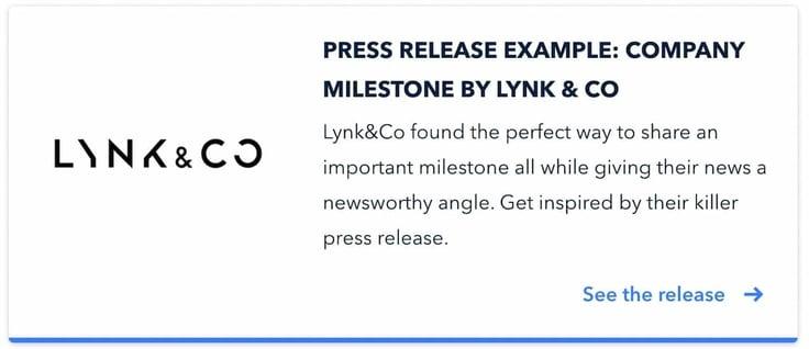 LynkCo Example