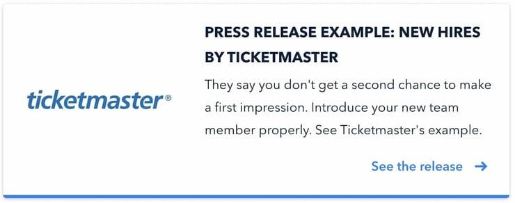 Ticketmaster-example