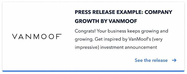 VanMoof example